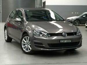 2014 Volkswagen Golf VII MY14 90TSI Beige Manual Hatchback