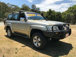 2007 Nissan Patrol GU IV MY07 ST-S (4x4) Gold 5 Speed Manual Wagon Clontarf Redcliffe Area Preview