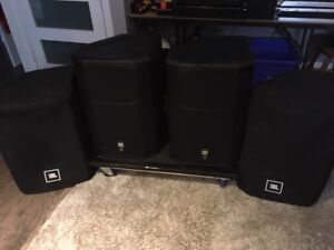 2 JBLPRX815W FOR SELL