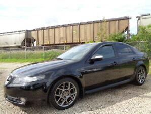 2008 ACURA TL TYPE-S-NAVI-DVD-LEATHER-SUNROOF-B/CAMERA