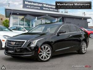 2015 CADILLAC ATS4 2.0T LUXURY |NAV|CAMERA|ROOF|PHONE|WARRANTY