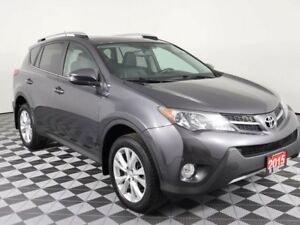 2015 Toyota RAV4 Limited w/Heated Leather Seats-Back Up Camera-M