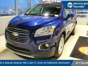 2016 Chevrolet TRAX LTZ AWD, LEATHER, SUNROOF, BACKUP CAMERA