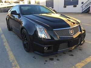 2013 CADILLAC CTS V Coupe (Black on Black) Text 604.506.1196