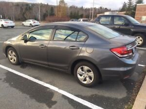 2013 Honda Civic LX Sedan in excellent condition