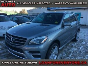 2013 Mercedes-Benz M-Class ML 350 BlueTEC AMG SPORT PACKAGE