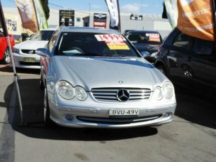 2003 Mercedes-Benz CLK500 C209 Avantgarde Silver 5 Speed Automatic Coupe