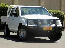 2011 Nissan Navara D40 MY11 RX White 6 Speed Manual Cab Chassis Blair Athol Port Adelaide Area Preview