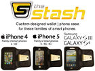 Nylon Cell Phone Wallet Cases for iPhone 5
