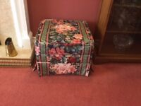Foot Stool and Storage Unit