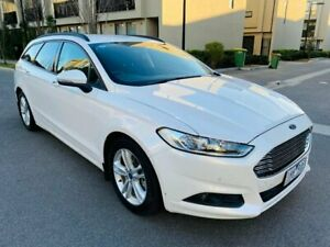 2016 Ford Mondeo MD Ambiente White 6 Speed Sports Automatic Dual Clutch Wagon Maidstone Maribyrnong Area Preview