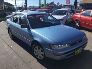 1997 Toyota Corolla AE102R Conquest Blue Automatic Sedan Boolaroo Lake Macquarie Area Preview