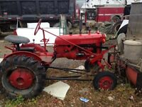For sale 1952 farm all tractor