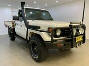1999 Toyota Landcruiser HZJ79R White 5 Speed Manual Cab Chassis Blacktown Blacktown Area Preview