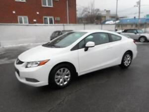 HONDA CIVIC COUPE LX 2012 ( AIR CLIMATISÉ, AUTOMATIQUE )
