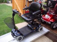 Lightweight Ex Demo Invacare Lynx Mobility Scooter Easily Portable Great Batteries 18 Stone Capacity