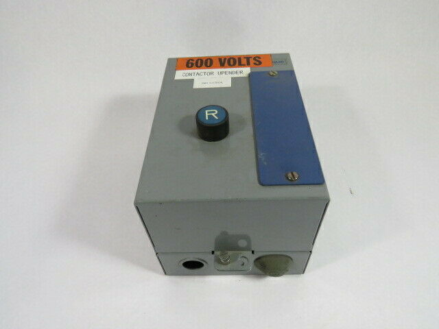 Telemecanique DTCM-0170-STD Starter Enclosure w/Reset Button  USED