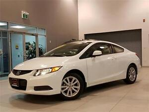 2012 Honda Civic EX-COUPE-SUNROOF-AUTOMATIC-ONLY 45KM