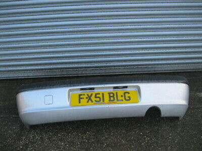 FORD FIESTA FREESTYLE HATCHBACK 3 DOOR 2000-2002 BUMPER (REAR) SILVER