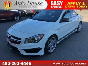 2014 MERCEDES BENZ CLA45 AMG NAVIGATION BACKUP CAMERA