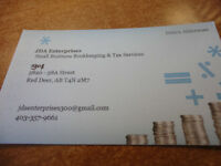 Small Business Bookkeeping & Tax Services