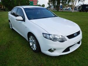 2010 Ford Falcon FG XR6 White 6 Speed Sports Automatic Sedan Hidden Valley Darwin City Preview