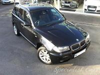 BMW X3 2.0 D M SPORT 5d 148 BHP (black) 2006