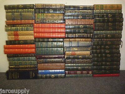 Lot of 10 Harvard Classics International Collector Franklin Great Books Rare MIX