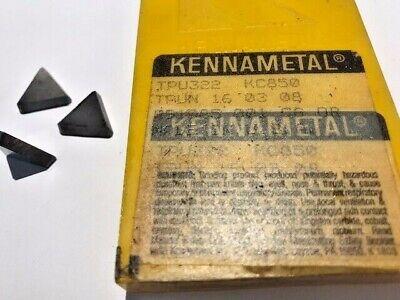 Interstate Carbide Insert Triangle TPU 322 Grade C2 Box of 10 2042-8034