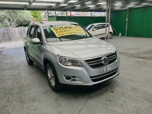 2009 Volkswagen Tiguan 5N MY10 125TSI 4MOTION Silver 6 Speed Sports Automatic Wagon Croydon Burwood Area Preview