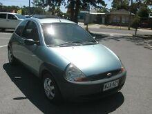 1999 Ford Ka  Light Green 5 Speed Manual Hatchback Alberton Port Adelaide Area Preview