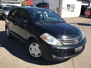 2012 Nissan Versa 1.8 S,PL,PW,AC,RADIO ,CD, CERTIFIED