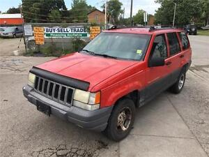 1997/Jeep grand Cherokee 4x4 $750 As Is Deal