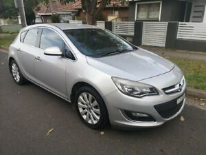 2013 Opel Astra PJ CDTI Select Silver 6 Speed Automatic Hatchback Lidcombe Auburn Area Preview