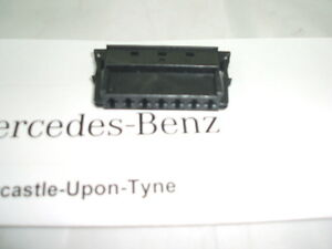 Genuine mercedes benz 7 pin plug connector socket for Mercedes benz electrical connectors