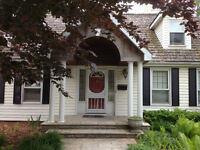 Partially Furnished 8 BR House For Rent - Available Sept 1st