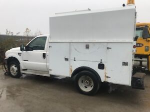 2002 Ford F-450 SUPER DUTY CUMMINS POWER DIESEL V8 SERVICE TRUCK