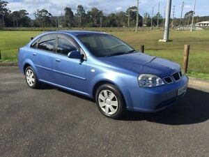 2004 Daewoo Lacetti J200 Blue 4 Speed Automatic Sedan West Gosford Gosford Area Preview