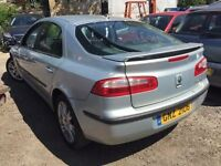 Cheap car of the day Renault Laguna, starts and drives well, car located in Gravesend Kent, leather