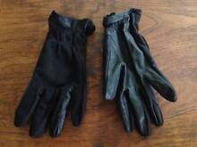 Genuine Black Leather Riding Gloves Mountain Creek Maroochydore Area Preview