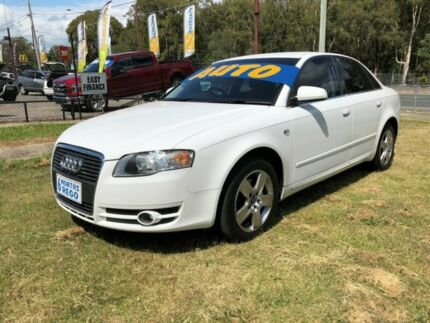 2006 Audi A4 B7 2.0 White CVT Multitronic Sedan Clontarf Redcliffe Area Preview