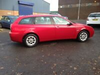 54reg ALFA ROMEO 156 JTD DIESEL ESTATE, ONLY 68K MILES - NEW M.O.T