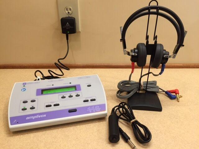New Amplivox 116 Portable Audiometer w 3 Year Warranty