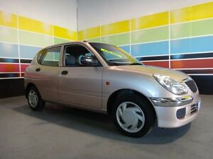 2003 Daihatsu Sirion M100 Light Primrose 5 Speed Manual Hatchback Wangara Wanneroo Area Preview