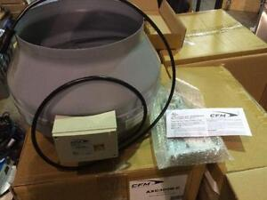 Ventilateur axial CFM AXC300B-C, 12'' de diamètre - Neuf --- New CFM AXC300B-C, 12'' de diameter axial fan