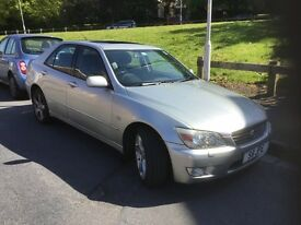 LEXUS IS 2.0 200 SE 4DR Manual (silver) 1999