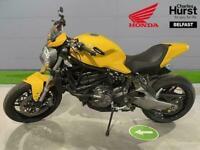 2018 Ducati Monster Monster 821 - Yellow (18My) Roadster Petrol Manual