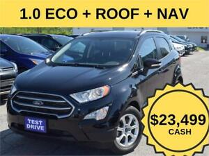 2018 Ford EcoSport SE| NAV| ROOF|INT PROTECTION & CONVENIENCE PC