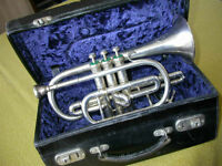SOLD Boosey & Hawkes Bb Imperial Cornet SOLD