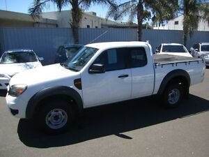 2010 Ford Ranger PK XL Super Cab Hi-Rider White 5 Speed Manual Utility St Marys Mitcham Area Preview